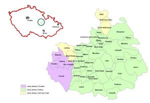 Mapa území MAS Litomyšlsko 2007-2013